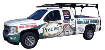 Precison Garage Door Repair Truck